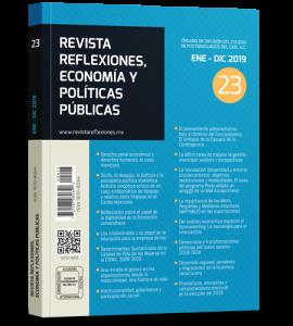 vista reflexiones, economía y políticas públicas No 23