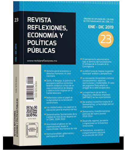 Revista reflexiones, economía y políticas públicas No.23